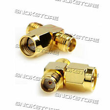 ADATTATORE ADAPTER CONNETTORE SMA male to 2 sma female T type antenna WIFI