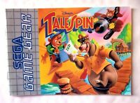 61650 Instruction Booklet - Talespin - Sega Game Gear (1993) 672-0967-50