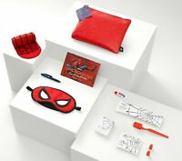 NWT United Airlines 'Spider Man: Far From Home' Limited Edition Amenity Kit- Red