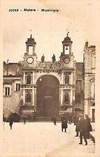 396) MATERA MUNICIPIO, ANIMATA.