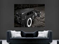 Ford 1929 Coche Hot Rod Roadster Clásico Usa muro de arte cartel impresión de foto Grande