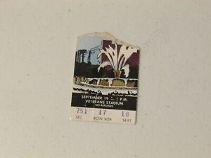 New York Giants Vs Philadelphia Eagles 1976 Ticket Stub September 19,1976