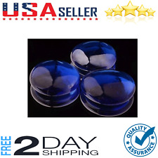 New listing Blue Fire Pit Glass Beads Premium Reflective Fireplace Drops Round Rocks 10 lb