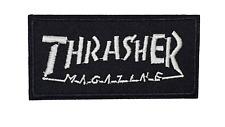 Thrasher Box Logo Magazine Iron or Sew on Patch Skateboard