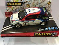 SCALEXTRIC 6094 FORD FOCUS WRC #4 COSTA BRAVA 2002 MARTINI C.SAINZ-M.MARTI