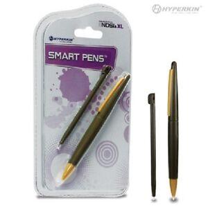 NEW 2 STYLUS SET DSi XL Smart Pens (1 Large, 1 Small) (Bronze) - Hyperkin    7B