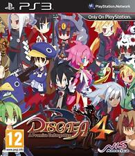 Disgaea 4: A Promise Unforgotten PS3 VERY GOOD CONDITION GAME CASE WITH MANUAL