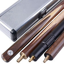 Mark Richard 57'' 3/4 Handmade Snooker Cue SETS - Case - Butt - Extension - TSA9
