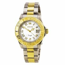 Invicta 14367 Womens Angel White MOP Dial Two Tone Bracelet Watch