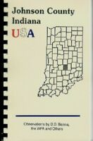 IN Historic Sketch Johnson County Indiana~BANTA 1881~ FRANKLIN COLLEGE~EDINBURG