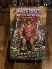 MOTU Classics Thunder Punch He-Man MIB Heroic Warrior Masters Of The Universe