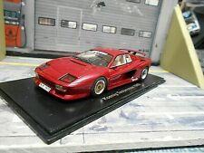 FERRARI Koenig Testarossa 1985 red rot V12 Turbo Tuning 1985 NEO Resin 1:43