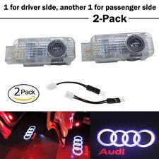 2 Stück LED Logo Licht Schatten Beamer Audi Auto Tür Laser Licht Zum A3/4L/ pc