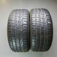 2x Pirelli P Zero 255/40 R19 96W DOT 1815 6,5 mm Sommerreifen Reifen