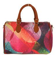 Desigual Damen Handtasche Henkeltasche Umhängetasche Tasche NEU 18WAXPAE-3016