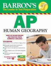 Barron's AP Human Geography, 5th Edition by Peter S. Alagona and Meredith...