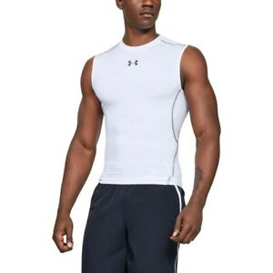 Under Armour Men's UA HeatGear® Armour Sleeveless Compression Shirt Medium