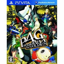 Used PS Vita Persona 4 Golden japan import