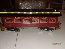 Classic Model Trains Standard Pennsylvania James Madison 190 Passenger Lighted
