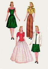 Dresses 1940s Collectable Sewing Patterns