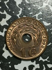 1942-P Netherlands East Indies 1 Cent (8 Available) High Grade! (1 Coin Only)