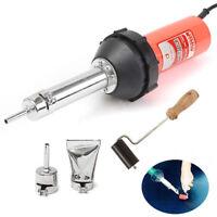 1080W Hot Air Plastic Heat Gas Welding Welder Pistol Gun Torch Nozzles