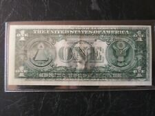 1974 3/4 Transfer Error Note! One Dollar Nice looking!