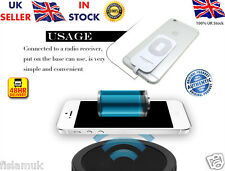 ☆New☆Genuine☆ Iphone 5 5s 6 6S Qi Wireless Charger Charging Receiver Adapter Kit