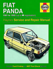 0793 Haynes Fiat Panda (81 - 95) up to M Workshop Manual