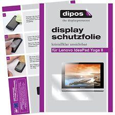 2x Lenovo IdeaPad Yoga Tablet 8 Schutzfolie klar Displayschutzfolie Folie dipos
