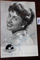 Postkarte Ansichtskarte Schauspielerin Margot Eskens