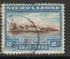 SIERRA LEONE  1933 SG 177  2/- Good Looking V.F.U. No Hidden Faults But see note
