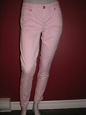 ISAAC MIZRAHI Women's Samantha Skinny Pink Jeans - Size 4 - NWT $79.50
