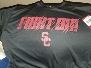 USC TROJANS MENS Size MEDIUM Official  Athletic T-Shirt