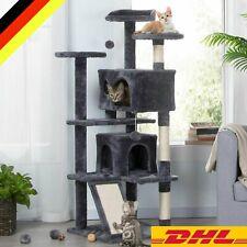 43-150CM Katzenbaum groß Kratzbaum Spielrolle Kletterbaum Spielhaus Spielbaum DE