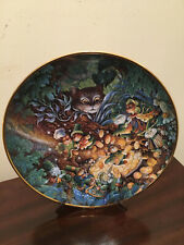 "Franklin Mint Heirloom Decorative Cat Plate-Bill Bell. ""St. Catrick's Day"""