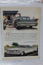"""Vintage Automobile Advertisement 11 X 14"""" 1959 Oldsmobile Super 88  (A68)"""