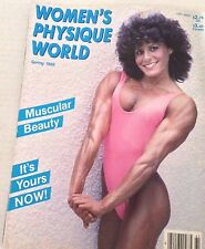 Women's Physique World Magazine Muscular Beauties Spring 1986 070517nonrh2