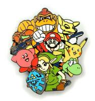 SMASH BROS Wii Switch N64 Nintendo Fantasy Lapel Pin
