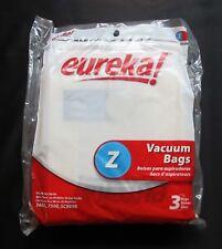 EUREKA STYLE Z VACUUM BAGS ~ 52339B  ~ PACK OF 3  ~ GENUINE Eureka