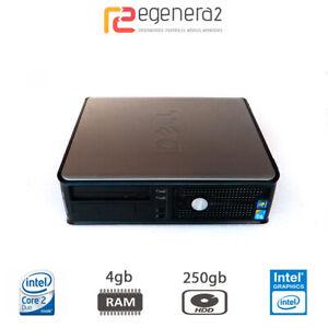 Dell Optiplex 780 Sff - Intel Core 2 Duo E5300@2.60 4gbDDR3 250gbHDD Win10ProUpd