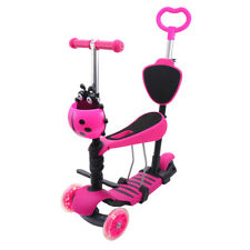 vidaXL Elektroroller Sitz LED 120W Rot Kinderroller Roller Tretroller Scooter