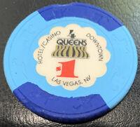 FOUR QUEENS $1 Casino Chip Las Vegas Nevada - Paul-son H&C