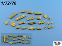 Redog 1:72 or 1:76 resin stowage kit / diorama accessories   /k3