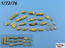 Redog 1:72 or 1:76 resin stowage kit / diorama accessories   /k3