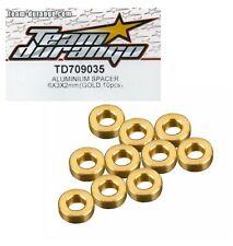 Team Durango TD320207 Aluminium THUMB NUT Gold