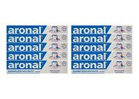 10x aronal Zahnpasta 75ml Zahnfleischschutz mit Zink PZN: 9431782 elmex
