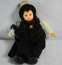 Anco Merchandise Co Girl Doll 1998 Dress, Red Scarf, Stocking Cap