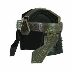 Lord of the rings Medieval Gimli Helmet LOTR Functional Gimli's Helmet & Stand.