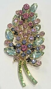 Joan Rivers Floral Spray Brooch